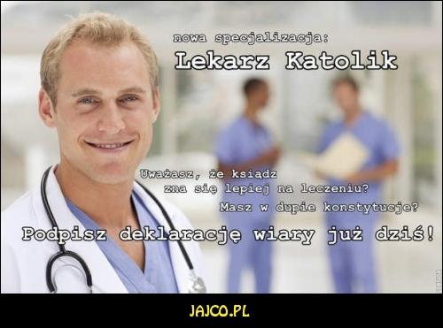 Lekarz katolik