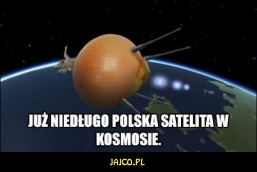 Polska satelita w kosmosie
