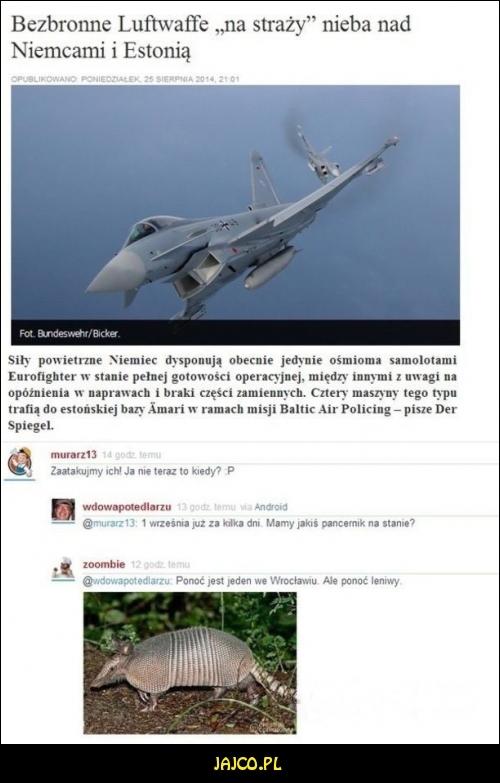 Atak Polski na Niemcy