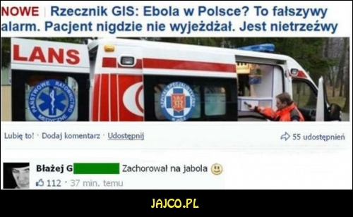 Ebola w Polsce