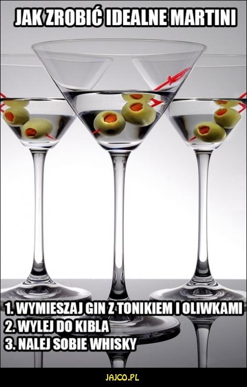 Jak zrobić idealne martini