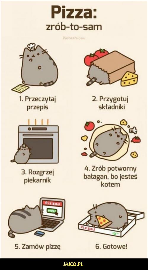 Jak zrobić pizzę?