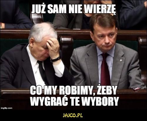 Jarek się załamuje :)