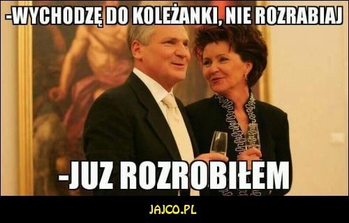 Kwaśniewski już rozrabia