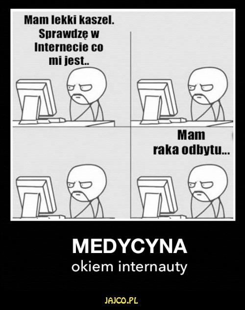 Medycyna okiem internauty