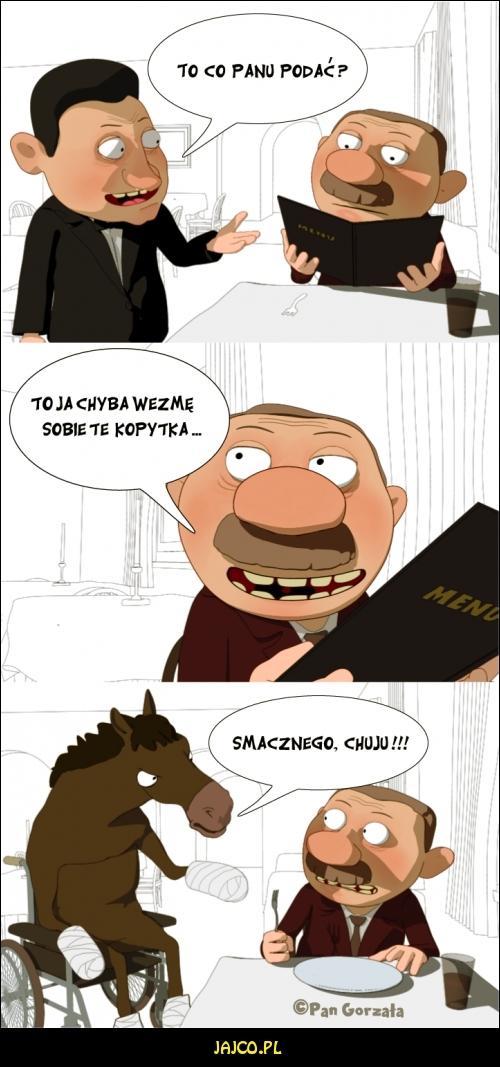 Kopytka - Pan Gorzała