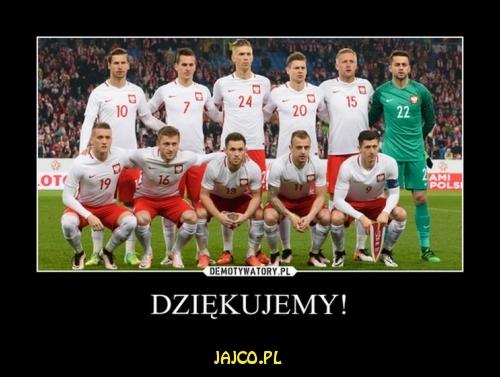 Polacy - dziękujemy!