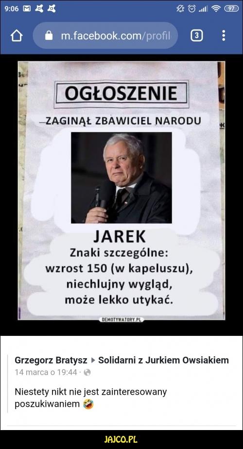 Wszyscy szukają Jarka